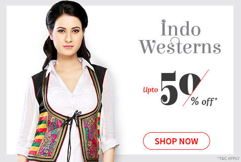 Upto 50% Off on Fusion Wear Collection of Mix-n Match, Stylish Separates, Gowns, Dresses & more. Shop!