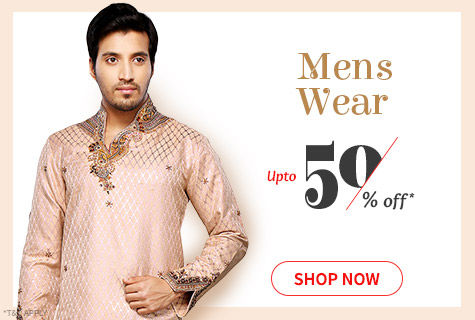 Upto 50% Off on Ethnic & Fusion Wear for Stylish Men. It's a deal!