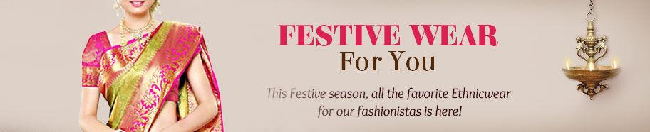 Repertoire of Ethnic Fashion for Festivals. Shop!