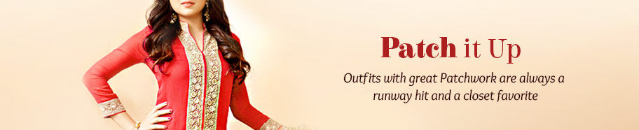 Outfits with Patchwork in print and embroidery. Shop!