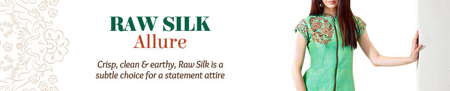 Range of Raw Silk ensembles. Shop!