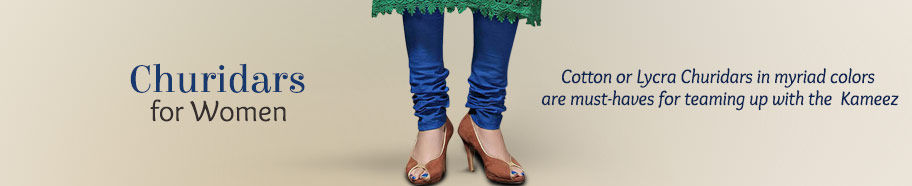 Churidars for Women in different colors. Shop!