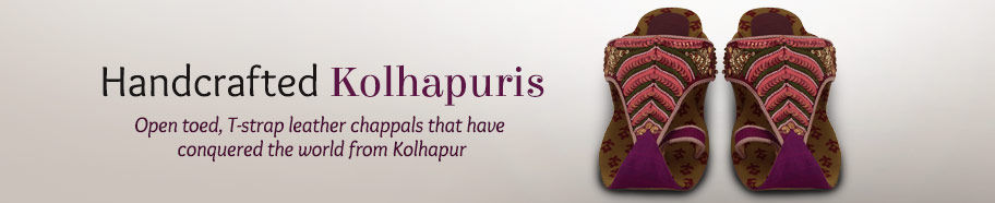 Kolhapuri Chappals for Women and Men. Shop!