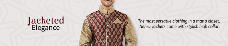 Nehru Jackets for Men. Shop!