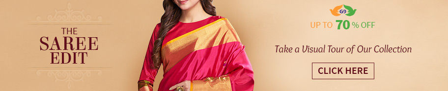 Sarees: Collection of Sarees from different regions, colors and fabrics. Shop!