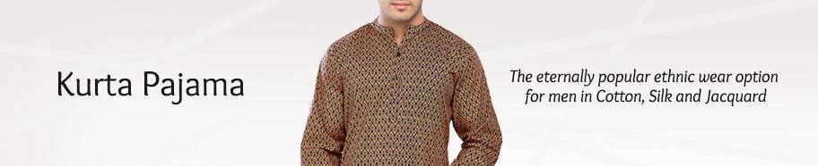 Kurta Pajamas for men. Shop!