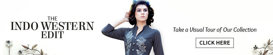 Indo Western: Fusion Wear Collection in different fabrics and styles. Shop!