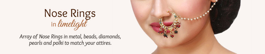 Nose Rings for the jewelry loving woman. Shop!