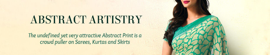 Attires with Abstract Print. Shop!