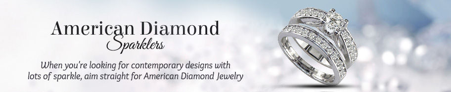 American Diamond Jewelry. Shop!