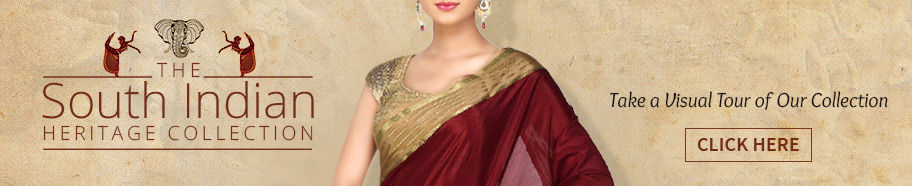 South Silk Sarees in Kanjivarams, Gadwals, Bangalore Silks & more for your wardrobe. Shop!
