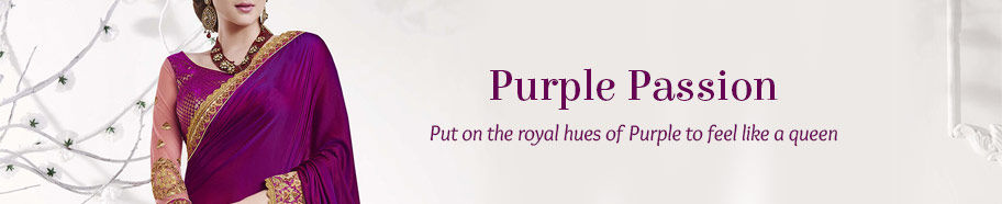 Get a Purple ethnic closet. Shop!