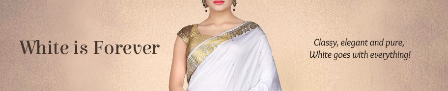 Indian wear in pure white. Shop!