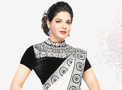 Choose from the largest collection of Designer Blouses in Plus Size.