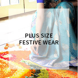 Shop Plus Size festive wear