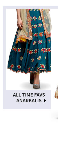 Shop traditional anarkali suits in Plus Size