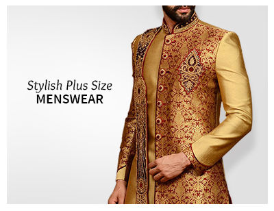 Shop Plus Size readymade menswear