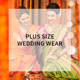Shop wedding wear plus size attires