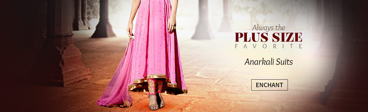 Shop Plus Size Anarkali Suits