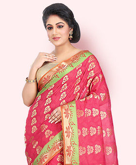 Shop Sarees with Plus Size blouses