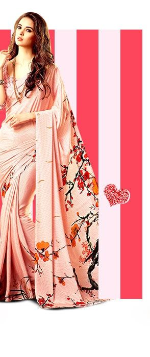 V-Day Collection in Re, Pink, Beige and Golden. Shop!