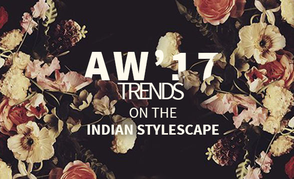 AW'17 Trends: Metallic, High Collar, Chanderi, Sequins in Ethnic attires. Shop!