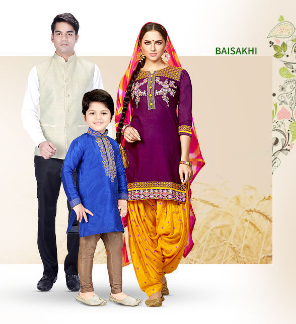 Patiala Suits, Banarasi ensembles, Pathani Suits & more for New Year in North. Enjoy!