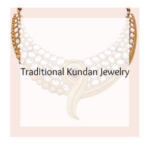 Colored Kundan Jewelry in Gold plated base and Stones. Shop!