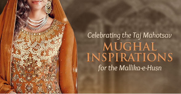 Mughal-inspired Anarkalis in Georgette, Net, Cotton, Art Silk with elaborate work. Shop!