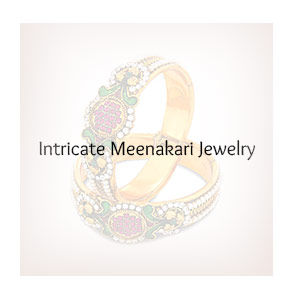 Meenakari Jewelry in traditional Necklace Sets, Earrings, Bangles & more. Shop!