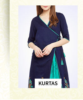 Indo Western Kurtas, Tunics, Skirts, Tops & more for Work Wear. Shop!