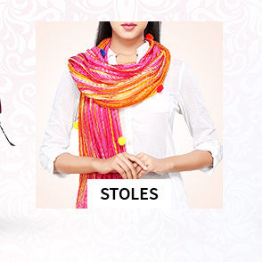 Cotton, Chanderi Silk Dupattas in monotone or block print. Shop!