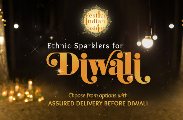 Diwali Collection: Festive attires for Women, Men and Kids and Gifts. Shop!
