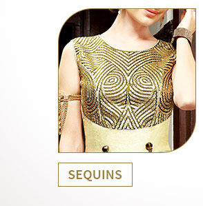 Sydney's trends in Net Attires, Pastel Collection, Sequin work range & more. Shop!