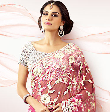 The Sheer Trend in Abayas, Half-n-Half Sarees, Circular Lehengas & more in Net fabric. Shop!