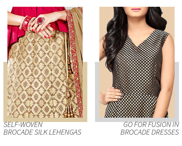 Kanchipuram, Banarasi Sarees, Brocade Jackets, Jacquard Palazzos. Splurge!