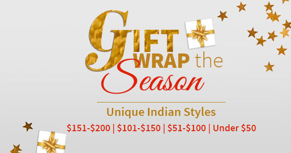 Gift Guide: Ethnic ensembles from under $50 to $200 to suit all budgets. Shop!