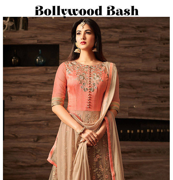 7bd5e76248 Diwali Bollywood parties: Metallic tone Sarees, Sequined Attires and Stone  work. Shop!