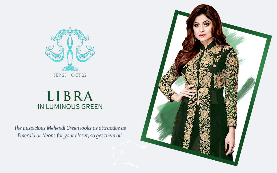 2018 Zodiac Colors: Women's ensembles in shades of Green. View!