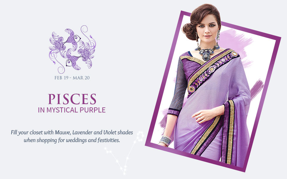 2018 Zodiac Colors: Women's ensembles in shades of Purple. View!