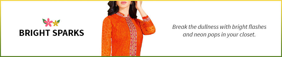 Beautiful Indian ethnicwear in bright colors. Shop!