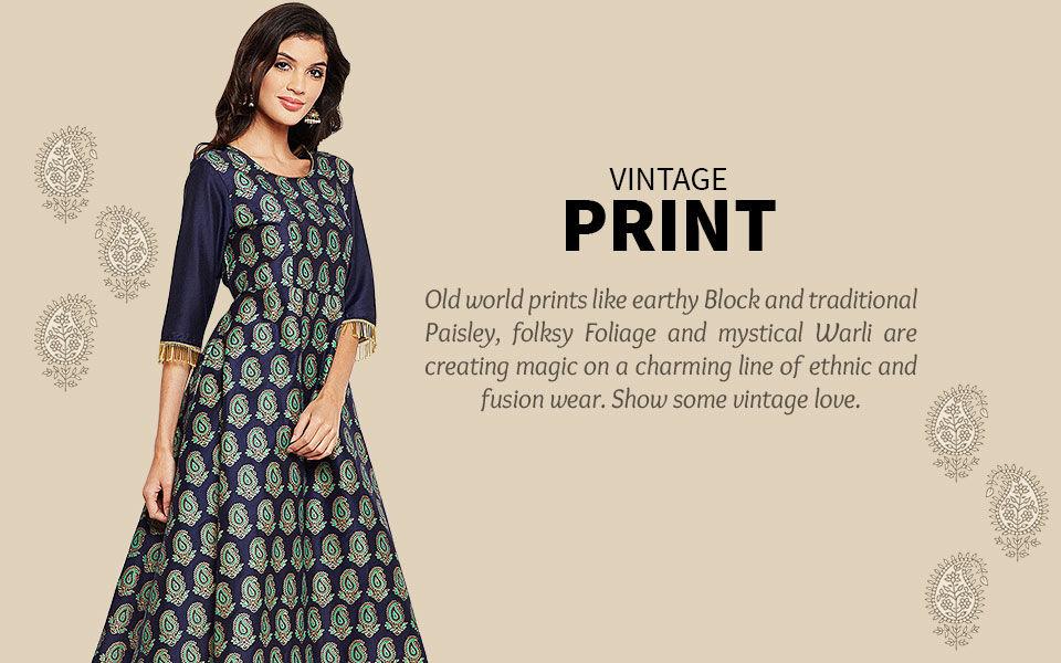 Block Print, Paisleys, Warli, Tie-n-Dye and more. Shop!