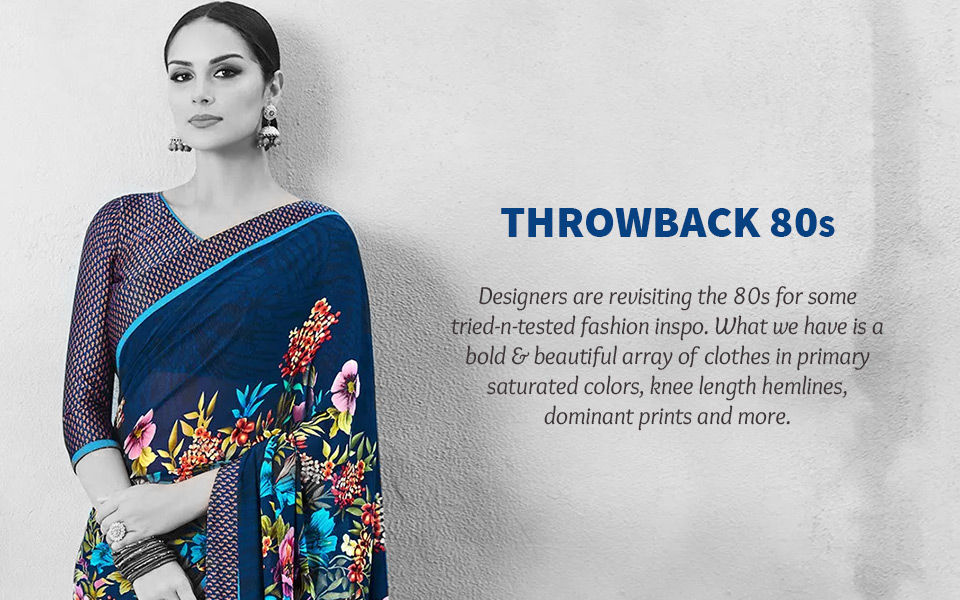 80's Fashion: Saturated Colors, knee lengths, bold prints and more. Shop!