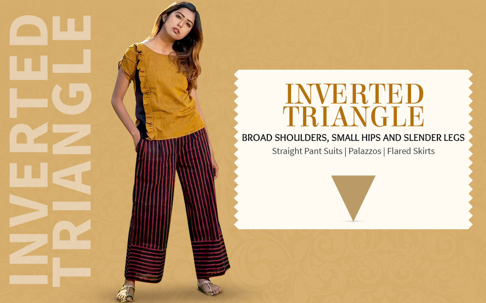 Image result for inverted triangle body shape
