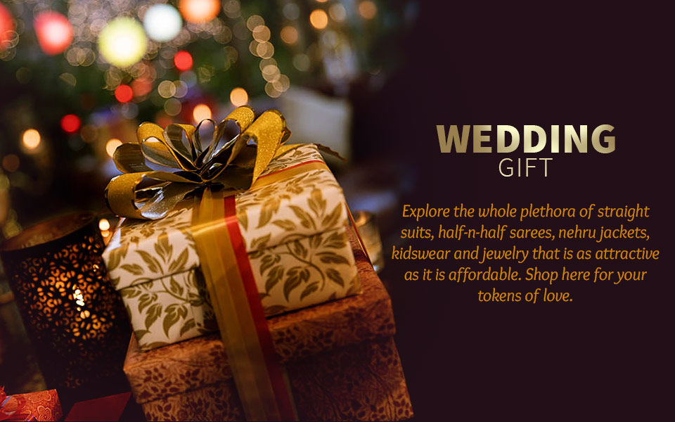 Beautiful Handpicked Family Gifts Collection For Indian Wedding