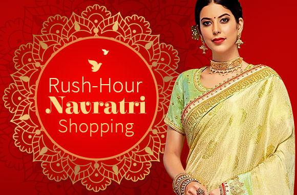 Navratri Ready-to-Ship Ethnic collection. Shop!