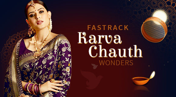 Ready-To- Ship Karva Chauth Collection. Shop!