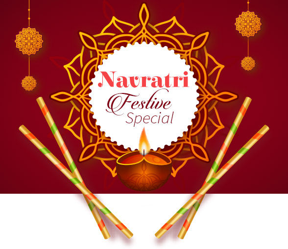 Navratri Festival Special: 9 days 9 colors with Dance and Dandiya Collection. Shop!