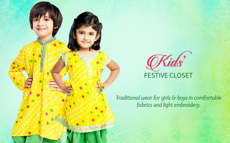 Kids Festive Closet