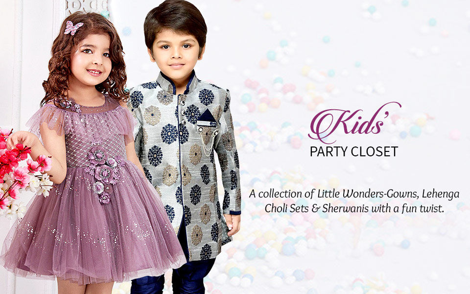 Kids Party Closet